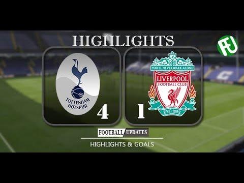 Download Tottenham vs Liverpool 4-1 All Goals and Highlights 22-10-2017 HD