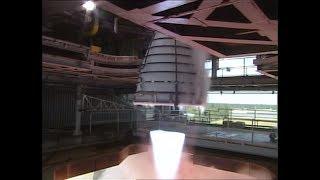 Test futur lanceur SLS , RS 25 (17 juillet 2015)