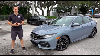 Is this a 2020 Honda Civic Si Hatchback?