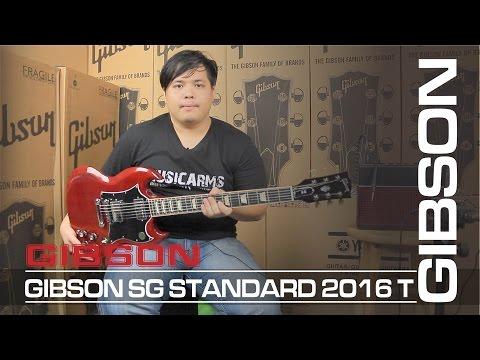 Gibson sg standard 2016 T | กีต้าร์ไฟฟ้า   [ MA รีวิว ]