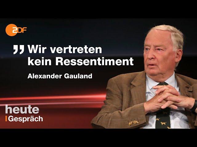 Merkel eine Diktatorin? Lanz bohrt bei Gauland nach
