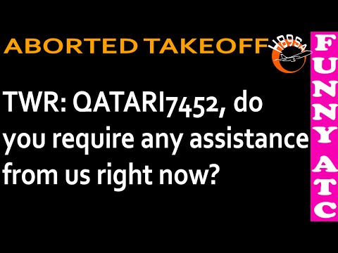 ATC: Qatar Airways Airbus A350 ABORTED TAKEOFF at JFK! (FULL ATC AUDIO)11.12.2015.