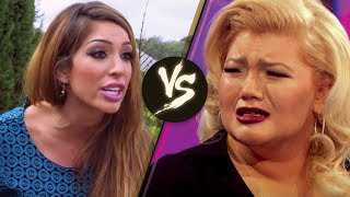 Farrah Abraham ACCUSES 'Teen Mom OG' Co-Star Amber Portwood of Getting Pregnant for Money