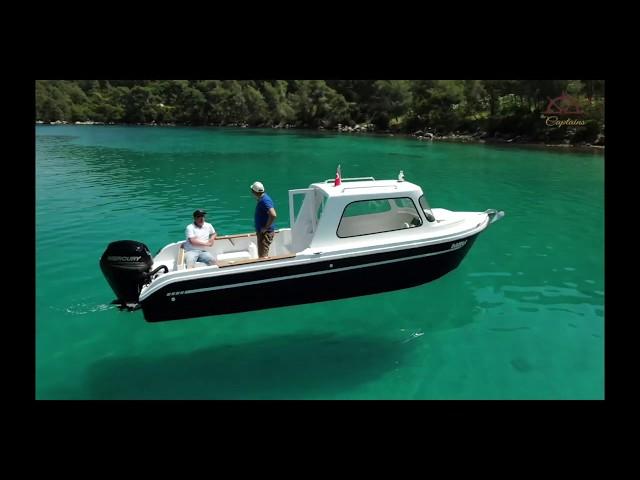 Fischerboot The Captains Fisher 660 (2018, Prototyp)