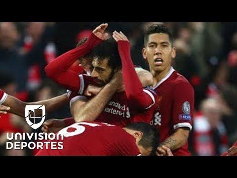 La 'Novela' de la Champions: con un Salah majestuoso, Liverpool goleó 5-2 a la Roma