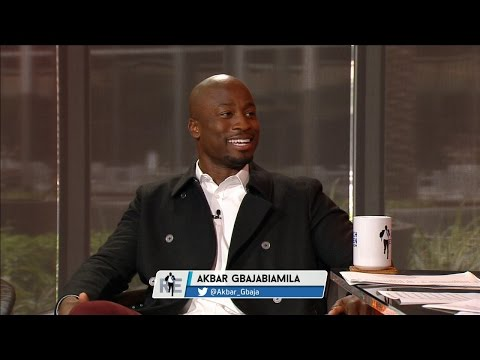 NBC's American Ninja Warrior co-host, Akbar Gbajabiamila stops in to the RE studio - 5/31/16