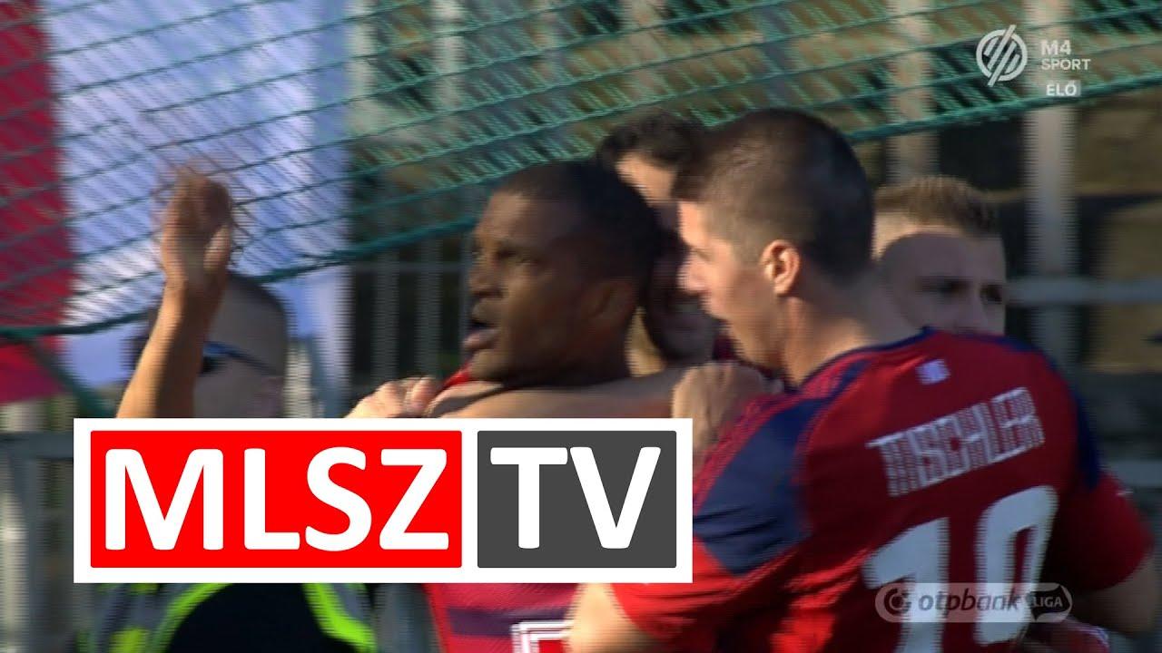 Nego Loic gólja az Újpest FC – Videoton FC mérkőzésen ...