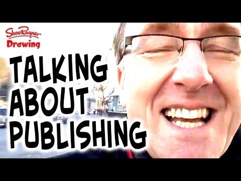 Talking about publishing in London