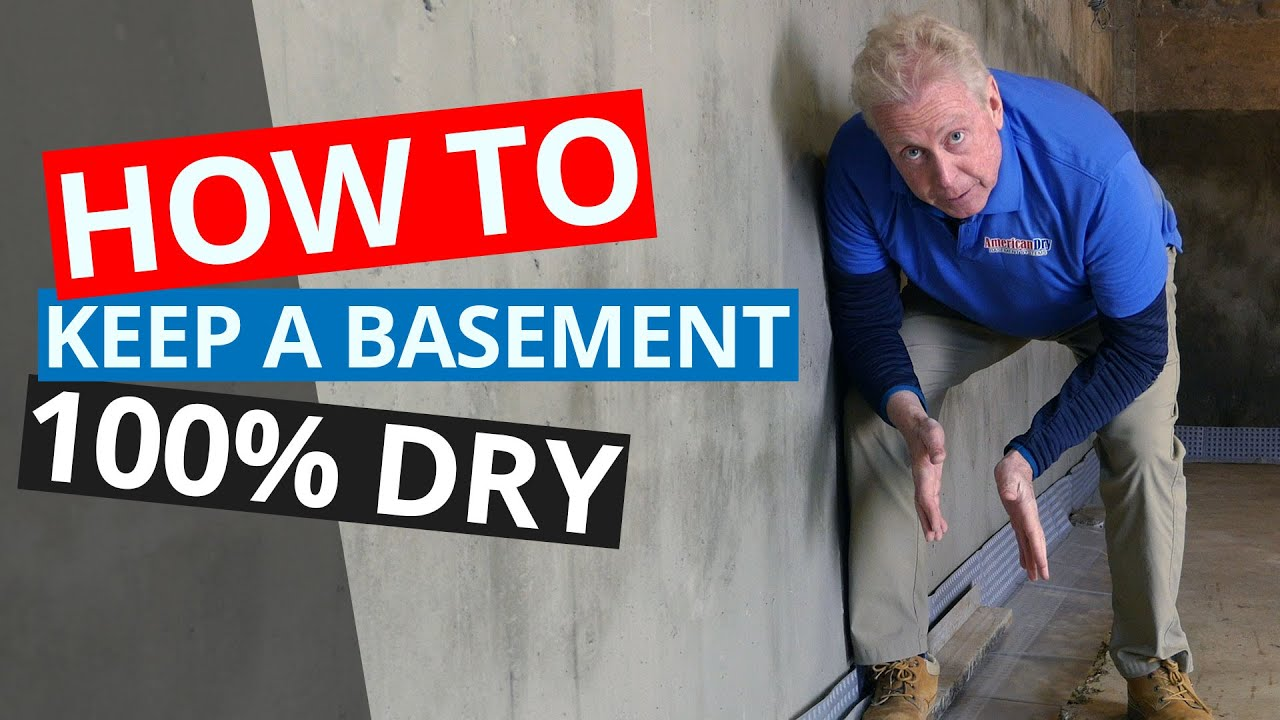 Basement Waterproofing | American Dry Basement Systems