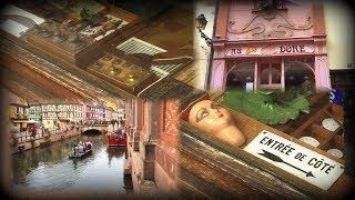 Oddie goes to France! Antique shop visit - castle tour...Little Venice! Part 2