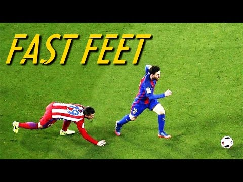 Lionel Messi - Fast Feet (HD)