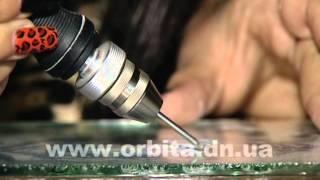Димитровчанка Марина Дегтярева осваивает гравировку по стеклу