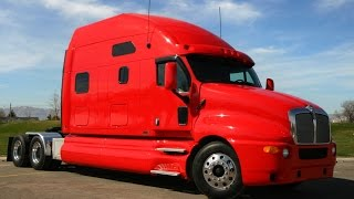 Stretched T-2000 Kenworth custom sleeper