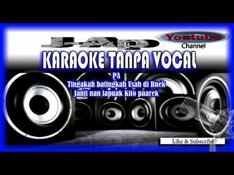 Karaoke Minang Cogok Mancogok  (Joget Basiginyang) Full Lirik