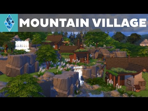 The Sims 4 - House Build - Mountain Village