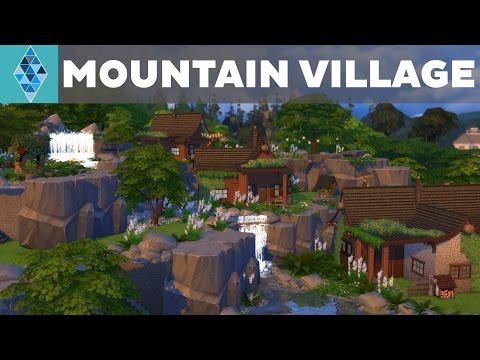 The Sims 4 - House Build - Mountain Village