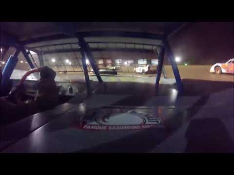 Greg Beach Feature Lernerville Speedway 8/3/18 In-Car