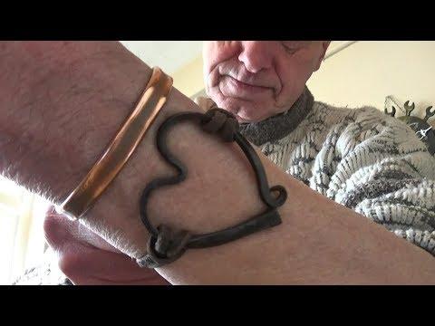 Handmade Horseshoe Nail Bracelet