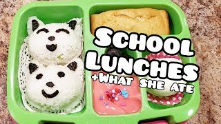 School lunches - Bento styled lunches - Bella Boo's Lunches