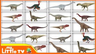 Learning Dinosaurs Names   Educational Video for Children   My Little TV