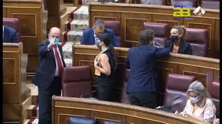 """El alcalde de Almería asiste a """"una jornada histórica"""" en el Congreso"""