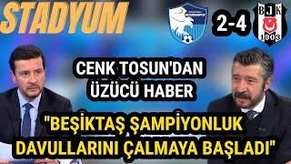 Beşiktaş Şampiyonluk Ateşini Yaktı ''Beşiktaş 4-2 Erzurumspor'' Tümer Metin Maç