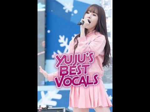 GFriend - Yuju: Best Vocals - Supported Vocal Range (at Her Best) | 여자친구 - 유주 :  고음모음 + 음역대