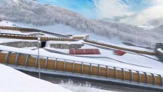 Olympic Venues in Sochi. Olympstroy's 3D animation feature.