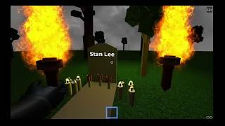 RIP STAN LEE - ROBLOX VIDEO/WATCH UNTIL THE END