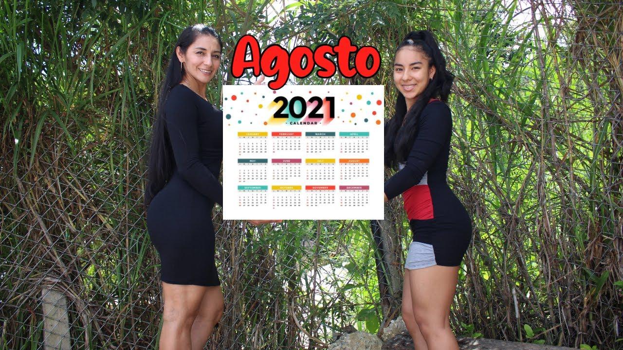 Calendario Agosto / ENTRENAMIENTOS Y RECOMENDACIONES Para Lograr Un #Cuerpazo Desde Casa.