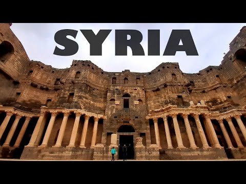 SYRIA Vlog 2020 - The Roman ruins of Bosra Al Sham. رحلتي إل