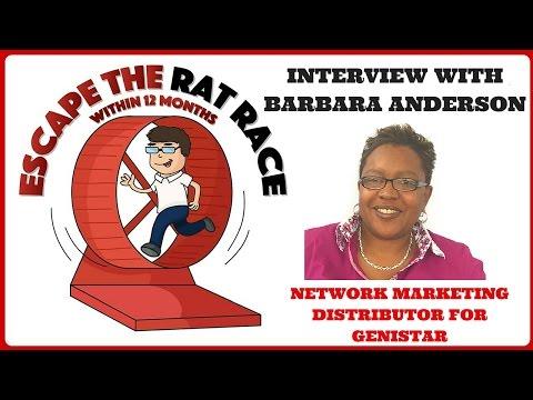 barbara-anderson,-network-marketing-distributor-for-genistar,-interview
