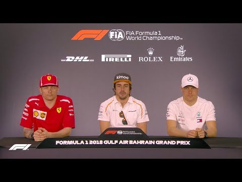 2018 Bahrain Grand Prix: Pre-Race Press Conference