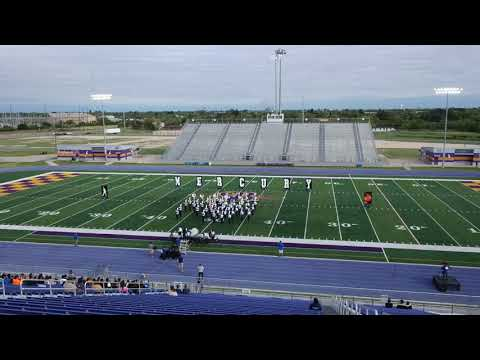 Raymondville High School Marching Band at the San Benito Marching Band Festival 2019
