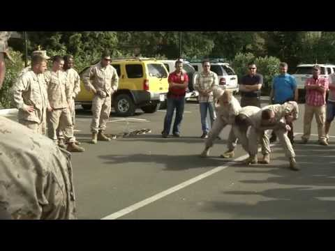 FASTEUR Marines train at U.S. Embassy in Albania