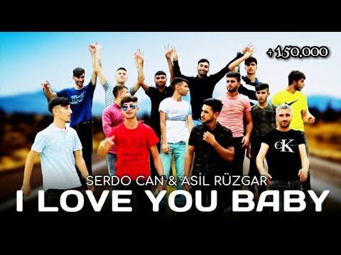 "(ADANAYA ÖZEL KOPMALIK PARÇA )Serdocan &  Asil Rüzgar ""I LOVE YOU BABY"" #mupto"