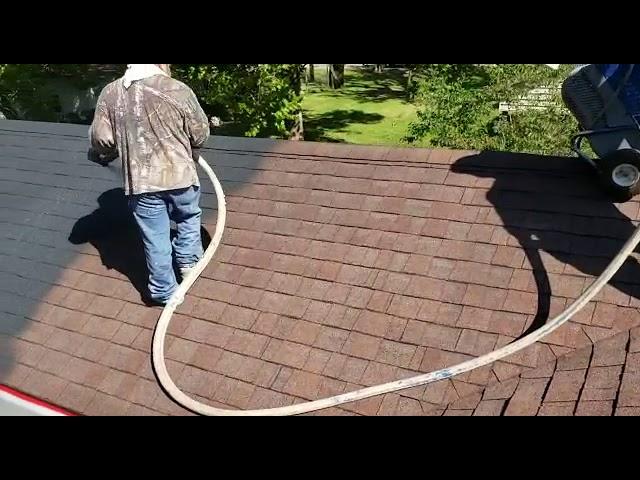 Spray Cork - Black Roof Coating