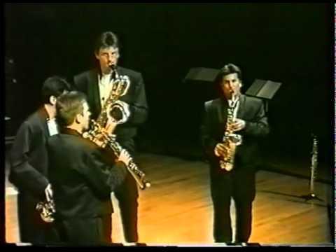 Nicolas PROST  -  Devil's Rag 【 Quatuor de saxophones Emphasis】
