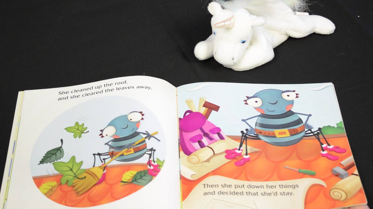 how to put together itsy bitsy books