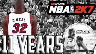NBA 2K7 11 Years Later... Better Than NBA 2K18?!