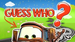 Pixar Cars: Guess Who | Guess The Cars Characters | Fun Game For Kids