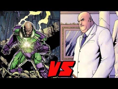 Lex Luthor VS Kingpin