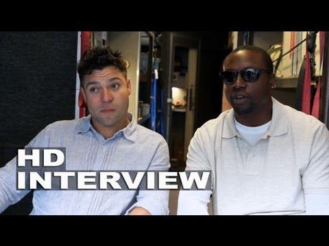 Don Jon: Rob Brown & Jeremy Luke On Set Movie Interview