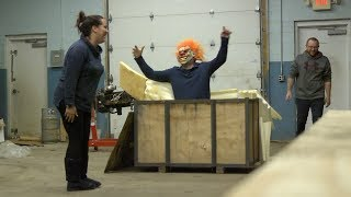 Halloween Warehouse Scare Prank - ConEquip Parts