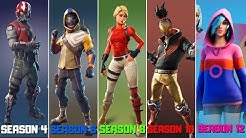 Evolution of Fortnite Starter Packs! All Fortnite Starter Packs! (Season 3 - Season 12)