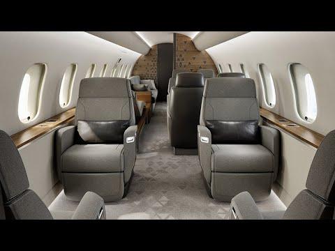 L'avion d'affaires Global 5500