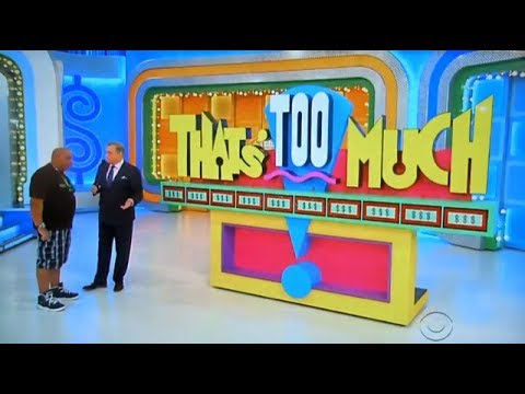 The Price is Right - That's Too Much - 5/3/2018