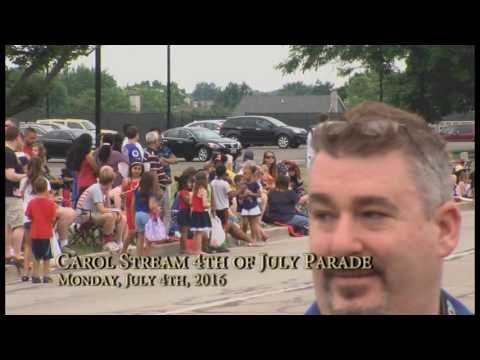 2016 Carol Stream Fourth of July Parade