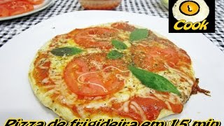 Pizza de frigideira em 15 minutos - Cueca Cook # 031