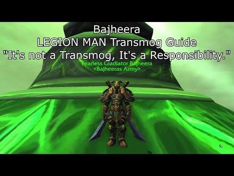 Bajheera - LEGION MAN: Warrior Transmog Guide - World of Warcraft Legion